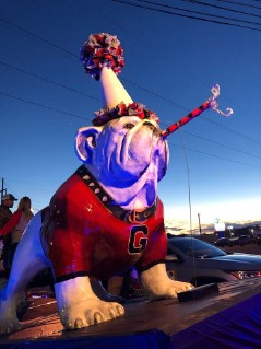 TUGA celebrates at the 2018 Christmas parade (Photo by South Georgia Photography)